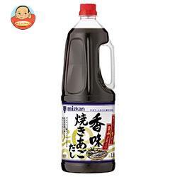 送料無料 【2ケースセット】ミツカン 香味焼きあごだし 1.8LPET×6本入×(2ケース)