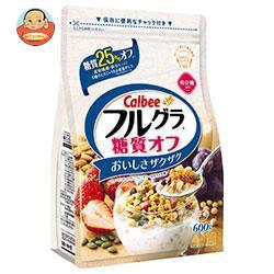 送料無料 【2ケースセット】カルビー フルグラ 糖質オフ 600g×6袋入×(2ケース)