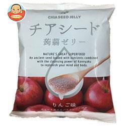送料無料 チアシード蒟蒻ゼリー りんご味 10個×12袋入
