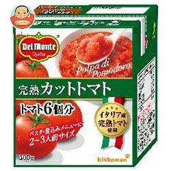 送料無料 デルモンテ 完熟カットトマト 300g紙パック×12個入