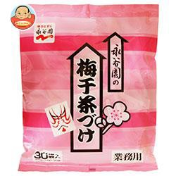 送料無料 永谷園 業務用梅干し茶づけ (3.5g×30袋)×1袋入