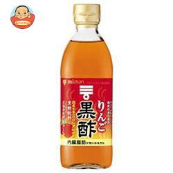 送料無料 ミツカン りんご黒酢 【機能性表示食品】 500ml瓶×6本入