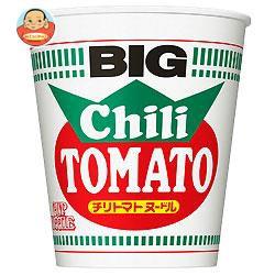 送料無料 日清食品 カップヌードル チリトマトヌードル ビッグ 107g×12個入