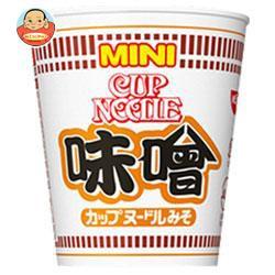 送料無料 日清食品 カップヌードル 味噌 ミニ 42g×30(15×2)個入