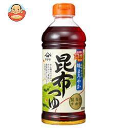 送料無料 【2ケースセット】ヤマサ醤油 昆布つゆ 500mlペットボトル×12本入×(2ケース)