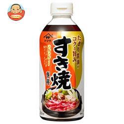 送料無料 【2ケースセット】ヤマサ醤油 すき焼専科 500mlペットボトル×12本入×(2ケース)