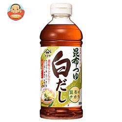 送料無料 【2ケースセット】ヤマサ醤油 昆布つゆ 白だし 500mlペットボトル×12本入×(2ケース)
