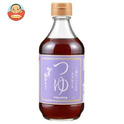 送料無料 アサムラサキ かき醤油仕立てつゆ ストレート 400ml瓶×12本入