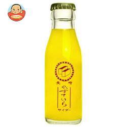 送料無料 友桝飲料 カステラサイダー 95ml瓶×2本×24箱入
