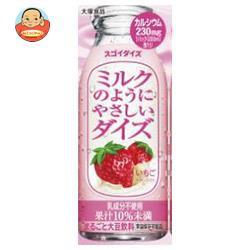 送料無料 【2ケースセット】大塚食品 ミルクのようにやさしいダイズ いちご 200ml紙パック×24本入×(2ケース)