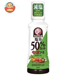 【送料無料】ブルドッグソース 塩分50%カット中濃ソース 200mlPET×10個入
