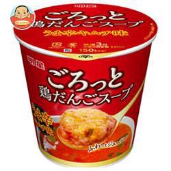 送料無料 明星食品 ごろっと鶏だんごスープ うま辛キムチ味 17g×24(6×4)個入
