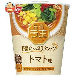 送料無料 日清食品 日清ラ王 野菜たっぷりタンメン トマト味 63g×12個入