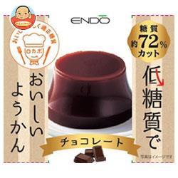 【送料無料】【2ケースセット】遠藤製餡 低糖質でようかん チョコレート 90g×24個入×(2ケース)