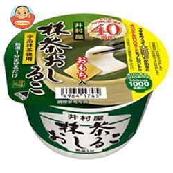 送料無料 井村屋 カップ抹茶おしるこ 30g×40(20×2)個入