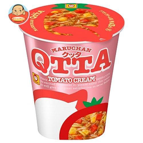 送料無料 東洋水産 MARUCHAN QTTA(マルチャン クッタ) トマトクリームラーメン 83g×12個入