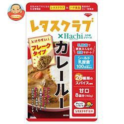 送料無料 【2ケースセット】ハチ食品 レタスクラブ コラボシリーズ カレールー 甘口 160g×12袋入×(2ケース)