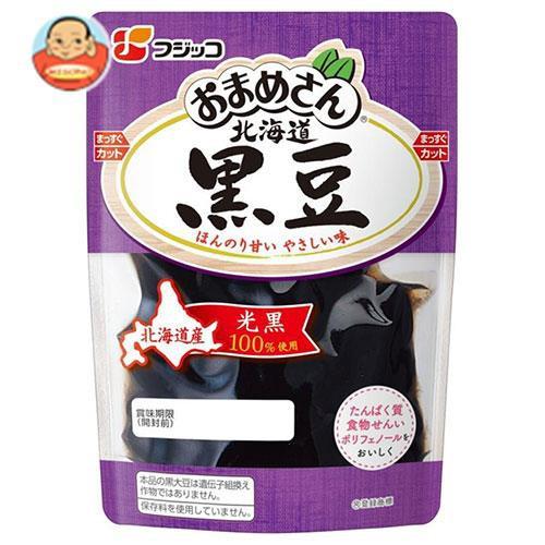送料無料 フジッコ おまめさん 北海道黒豆 118g×10袋入