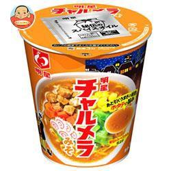 【送料無料】明星食品 チャルメラカップ みそ 72g×12個入