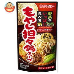 送料無料 ダイショー 野菜をいっぱい食べる鍋 もやし担々鍋スープ 750g×10袋入