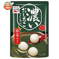 【送料無料】【2ケースセット】永谷園 濃いおしるこ こしあん 抹茶仕立て 140g×10袋入×(2ケース)