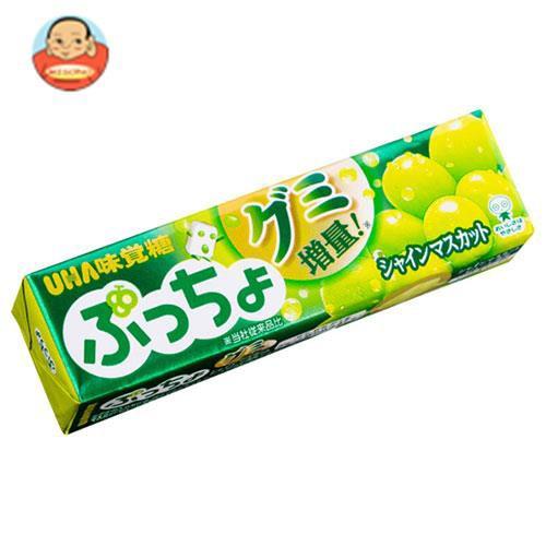 送料無料 UHA味覚糖 ぷっちょスティック シャインマスカット 10粒×10個入