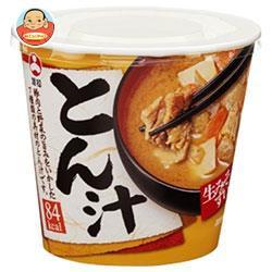 送料無料 旭松食品 カップ生みそずい とん汁 75g×6個入