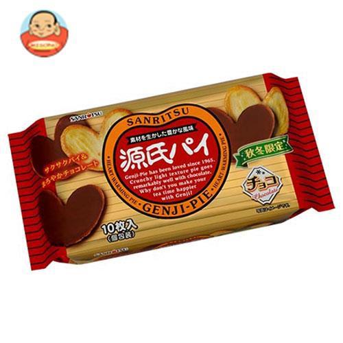 【送料無料】三立製菓 源氏パイ チョコ 10枚×12袋入