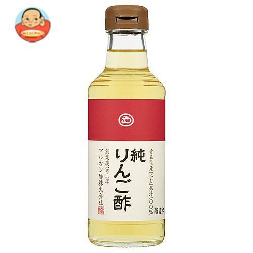 【送料無料】マルカン酢 純りんご酢 プレミアム 360ml瓶×12本入