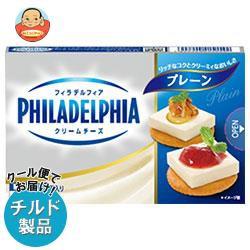送料無料 【チルド(冷蔵)商品】森永乳業 フィラデルフィア クリームチーズ 6P プレーン 90g×12個入