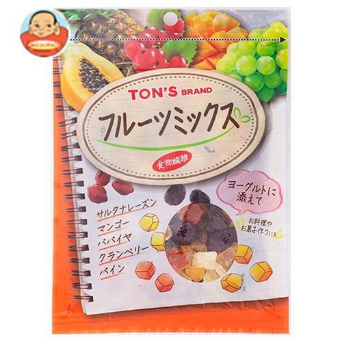 送料無料 東洋ナッツ食品 トン TNSF フルーツミックス 80g×10袋入