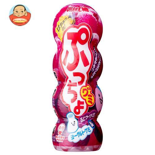 送料無料 【2ケースセット】UHA味覚糖 ぷっちょグミ ぶどう 40g×10個入×(2ケース)