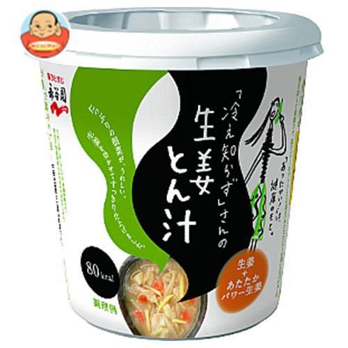 送料無料 永谷園 「冷え知らず」さんの生姜カップとん汁 76g×6個入
