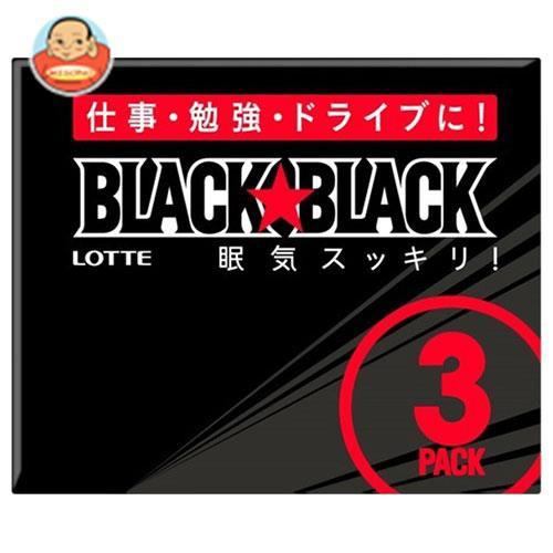 送料無料 ロッテ ブラックブラックガム 3P×10個入
