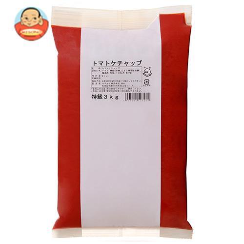 送料無料 ハグルマ JAS特級 トマトケチャップ 3kg袋パック×4袋入