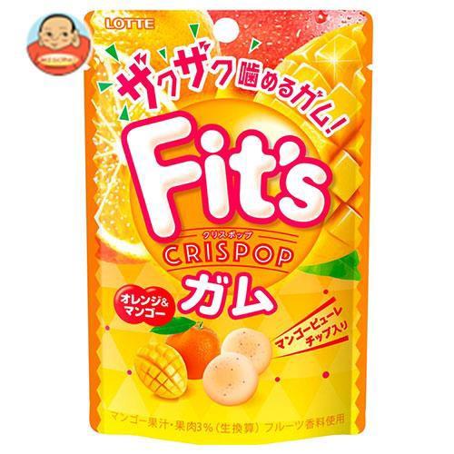 送料無料 ロッテ Fit's Crispop(クリスポップ) オレンジ&マンゴー 27g×10個入