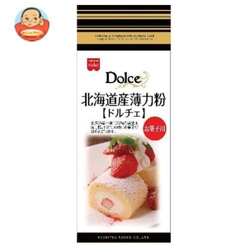 送料無料 【2ケースセット】共立食品 北海道産薄力粉 ドルチェ 500g×6袋入×(2ケース)