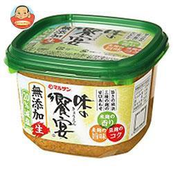 送料無料 【2ケースセット】マルサンアイ 味の饗宴 無添加生減塩 750g×6個入×(2ケース)