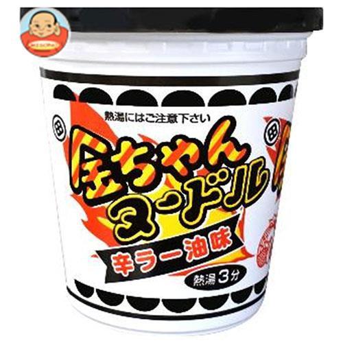 【送料無料】徳島製粉 金ちゃんヌードル 辛ラー油味 81g×12個入