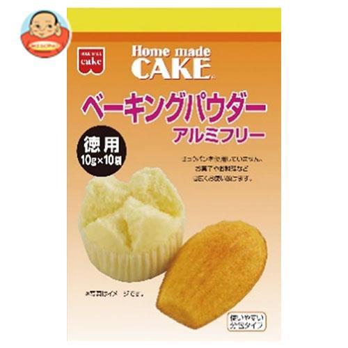 送料無料 【2ケースセット】共立食品 徳用 ベーキングパウダー 100g(10g×10袋)×6袋入×(2ケース)
