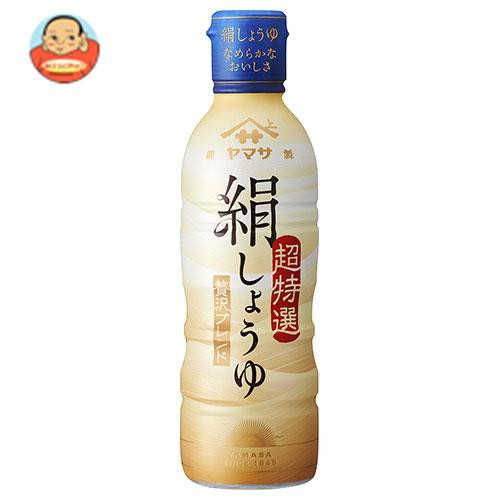 送料無料 【2ケースセット】ヤマサ醤油 絹しょうゆ 450mlボトル×12本入×(2ケース)