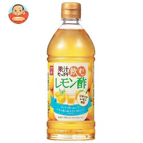 送料無料 【2ケースセット】内堀醸造 果汁たっぷり飲むレモン酢 500mlペットボトル×10本入×(2ケース)