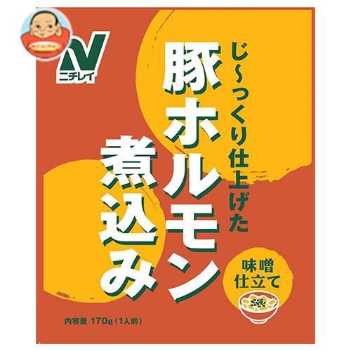 送料無料 ニチレイ 豚ホルモン煮込み 170g×30袋入