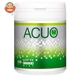 送料無料 ロッテ ACUO(アクオ) グリーンミント ファミリーボトル 140g×6個入