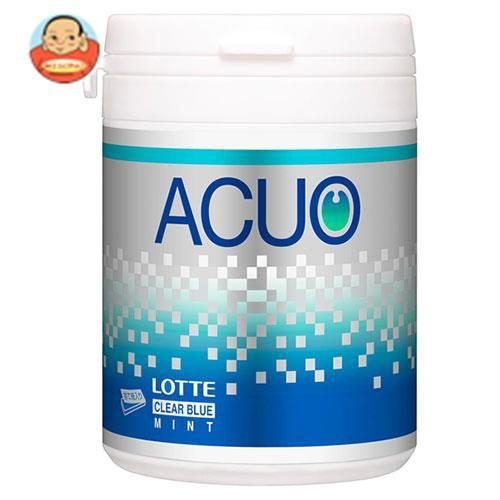 送料無料 ロッテ ACUO(アクオ) クリアブルーミント ファミリーボトル 140g×6個入