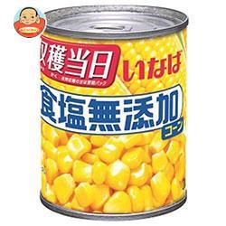 送料無料 【2ケースセット】いなば食品 食塩無添加コーン 200g×24個入×(2ケース)