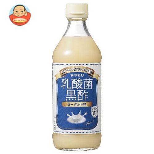 送料無料 【2ケースセット】ヤマモリ 乳酸菌黒酢 ヨーグルト味 500ml瓶×6本入×(2ケース)