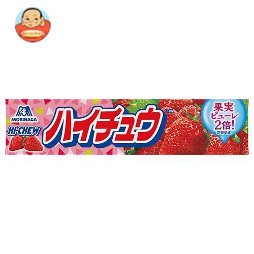 送料無料 【2ケースセット】森永製菓 ハイチュウ ストロベリー 12粒×12個入×(2ケース)