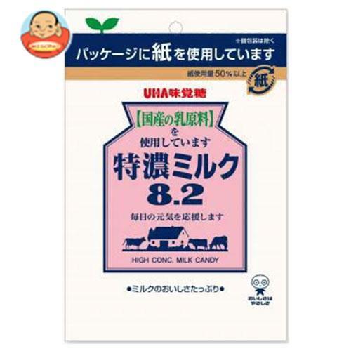 送料無料 UHA味覚糖 特濃ミルク8.2 88g×6袋入
