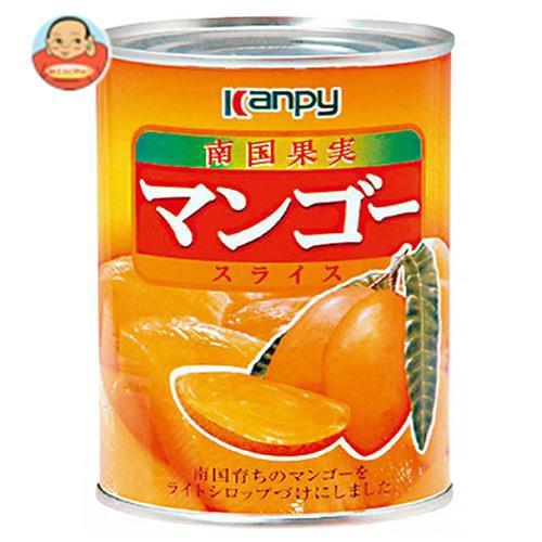 送料無料 【2ケースセット】カンピー マンゴースライス 425g缶×24個入×(2ケース)